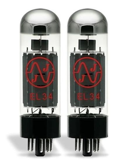 Valvulas Electronicas Jj El34 Potencia Par Apareado