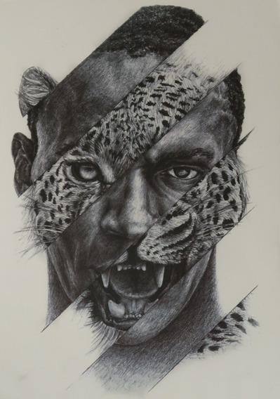 Tatuagem Temporaria - Perfeita - Realista Canibal