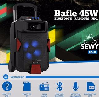Parlante Portable Sewy Pa-01 C/mic.inal.env.grat Ctas S/int
