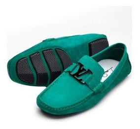 f0feffb404 Mocassim Louis Vuitton Mocassins - Sapatos Verde com o Melhores ...