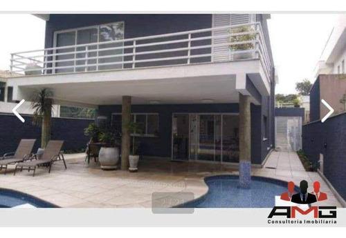 Imagem 1 de 20 de Casa Com 5 Dormitórios À Venda, 360 M² Por R$ 3.300.000,00 - Riviera - Módulo 24 - Bertioga/sp - Ca1029