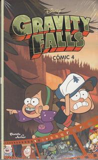 Disney Gravity Falls Comic 4 Planet Junior Libro Original