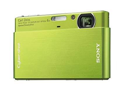 Camera Digital Sony Cyber Shot Dsc-t77 Touchscreen - Verde