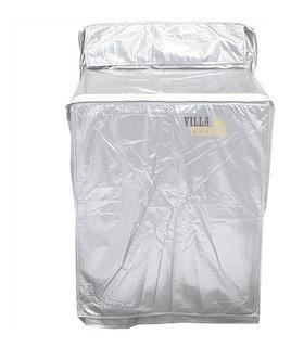 Funda Para Lavadora Tela Aluminizada 110 X 74 X 69 Cm Pvc