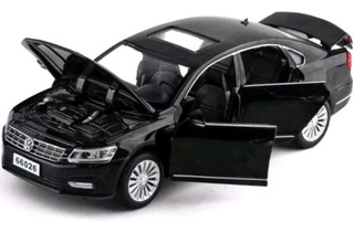 Miniatura Volkswagen Passat 1:32 Barata 4portas Acende Farol