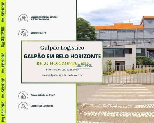 Imagem 1 de 14 de Galpão À Venda Em Betim/mg  - Alugado, Com Renda. - Ga1081