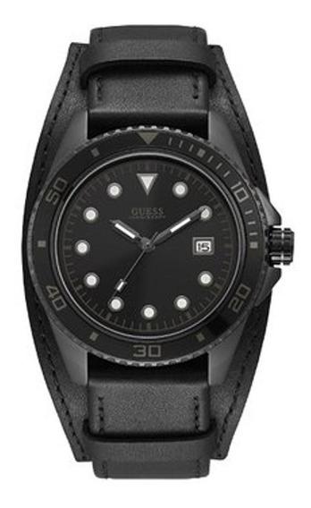 Para Caballero Reloj Guess W1051g4 Para Caballero Negro
