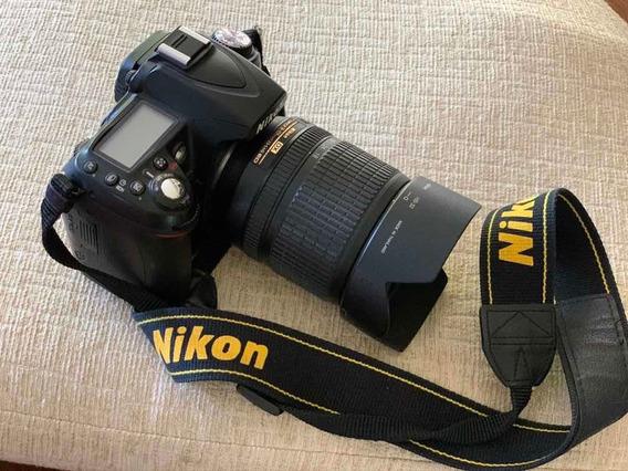 Cámara Nikon D90 Con Lente 18-105 Y Accesorios Originales.