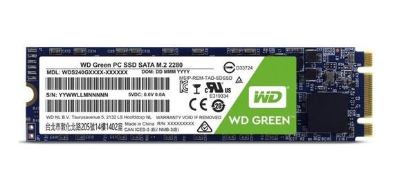 Ssd Wd Green M.2 2280 4800gb - Wds480g2g0b - Wd