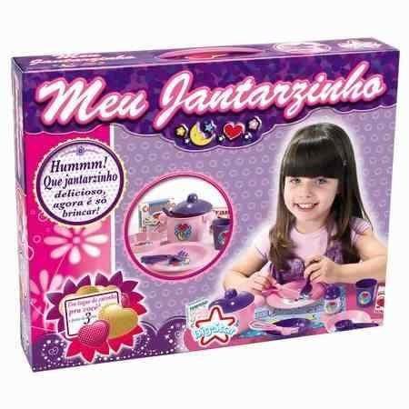 Meu Jantarzinho Cozinha- Big Star- Brinquedos Para Meninas