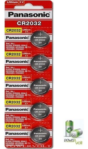 Bateria Panasonic / Sony Cr2032 3.0v | Cart. C/05 Pilha
