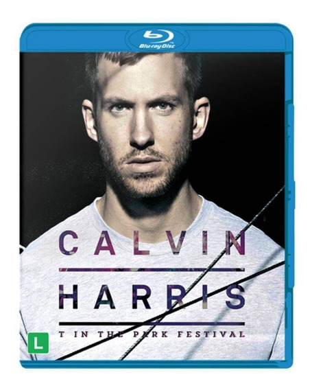 Blu-ray Calvin Harris -- T In The Park Festival