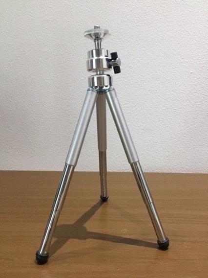 Mini Tripe Metal Cameras Celular Tablet Youtube Youtuber