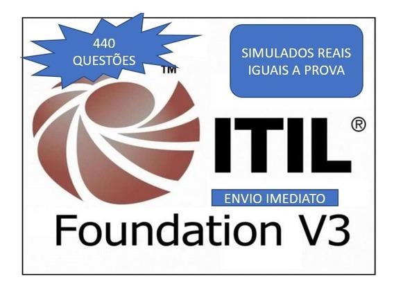 Simulados Certificação Itil V3 Pt Br