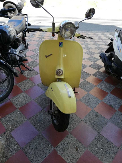 Vespa Plus 98 Amarilla
