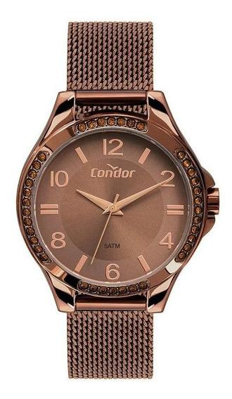 Relógio Feminino Condor Co2035mtm/4m Cobre