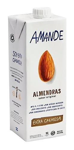 Leche De Almendras Amande X 1 Lt