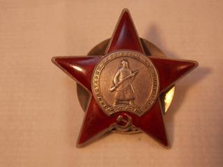 Antique, Condecoración Orden De La Estrella Roja ,2da. G.m.