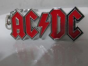 Chaveiro De Metal Banda Rock Ac/dc