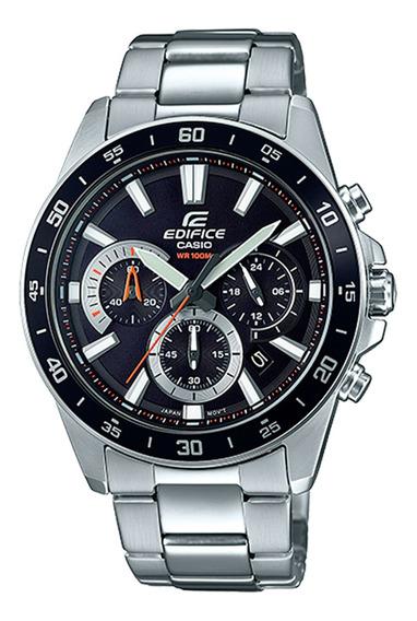 Relógio Casio Masculino Efv-570d-1avudf Prata - Refinado