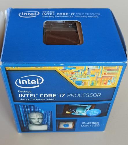 Imagem 1 de 7 de Processador Gamer Intel I7-4790k Bx80646i74790k 4ghz 8mb