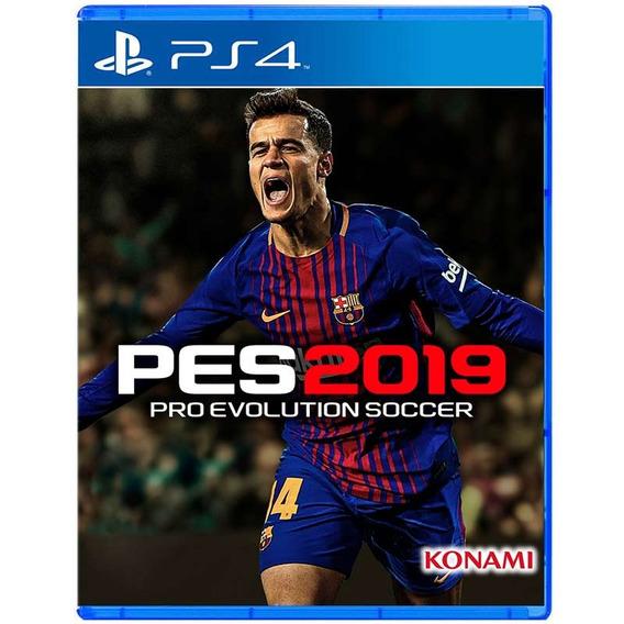 Jogo Mídia Física Pro Evolution Soccer Pes 2019 Para Ps4