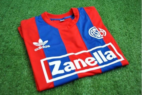 Camiseta Retro San Lorenzo Zanella 1985