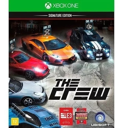 The Crew Xbox One - Nacional - Mídia Física - Lacrado - Rj