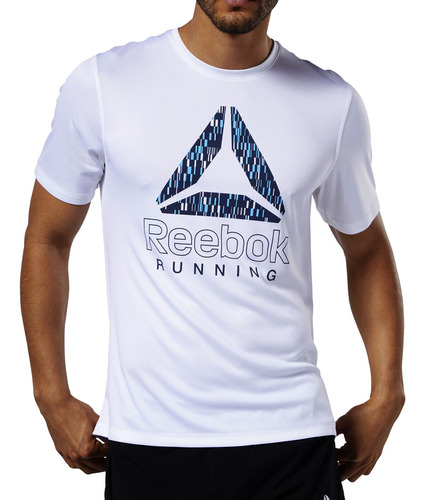 Remera Reebok Running Graphic Hombre Bl