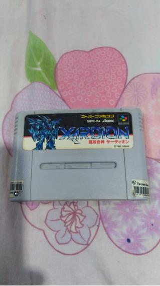 Xardion Supernintendo Original Japonesa.r$ 60 Pacote 2