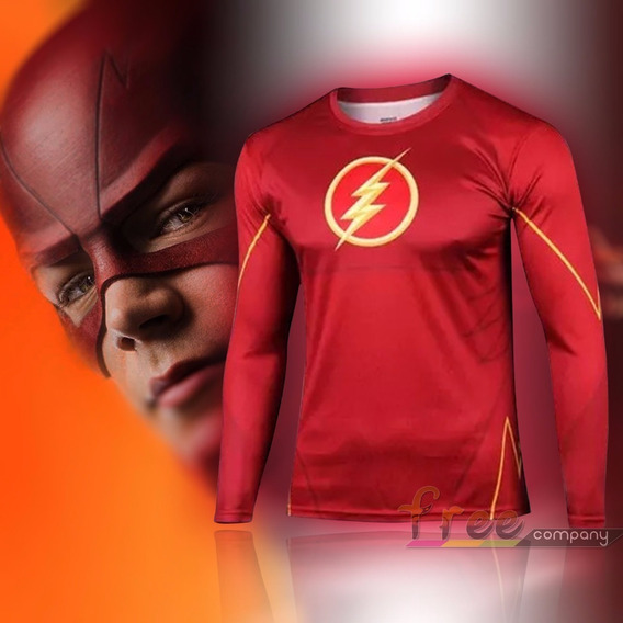Camiseta Deportiva Superheroes Marvel Flash Xtreme