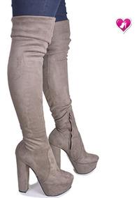 Botas Bucaneras Elastizada Modelo Dyabla De Shoes Bayres