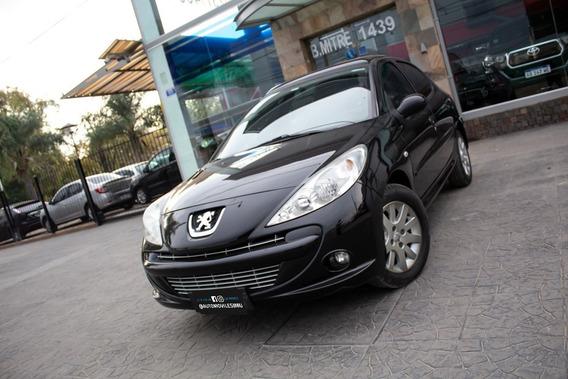 Peugeot 207 Xt 5p 1.6 16v Nafta 2011 Negro
