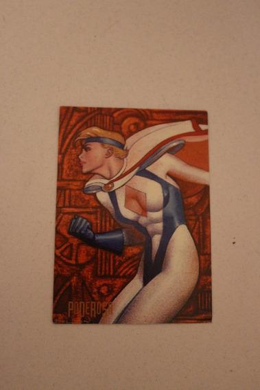 1995 Pepsi Card Dc Comics Poderosa 84 De 100 Power Girl
