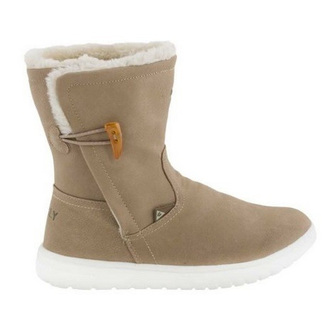 Bota Casual Para Dama Charly Color Beige 182661 T+1 19p