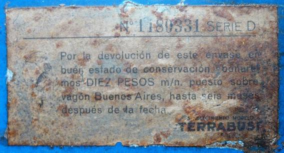 Antigua Lata Galletitas Terrabusi Panrico. 18157