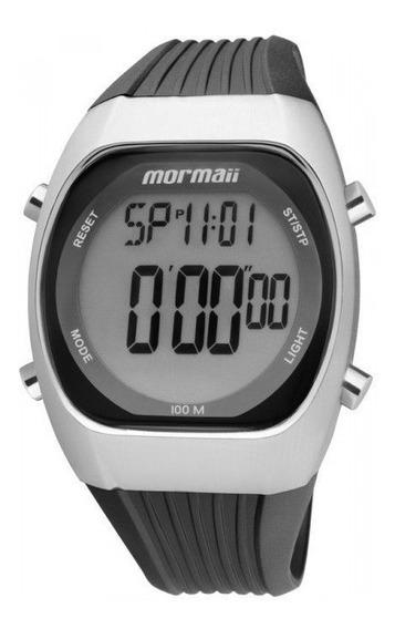 Relógio Mormaii Masculino Digital Caixa De Aço Y11099/8p