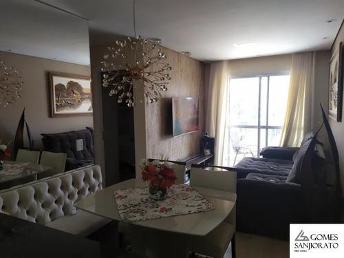 Apartamento Para A Venda No Bairro Casa Branca Em Santo André - Sp. - Ap00682 - 68686766