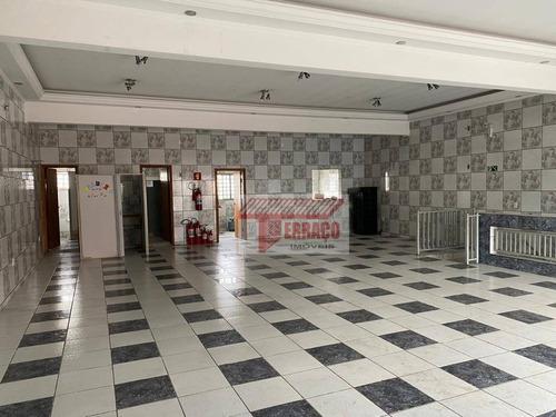 Imagem 1 de 17 de Prédio Para Alugar, 740 M² Por R$ 8.500,00/mês - Vila Alzira - Santo André/sp - Pr0012