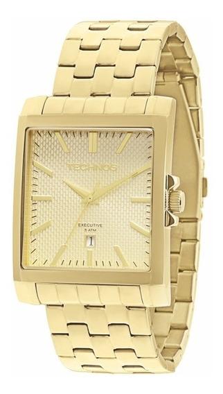 Relógio Technos Masculino Executive 2115koz/4x Dourado Off