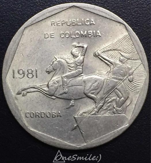 Onesmile:) Moneda De Colombia 10 Pesos 1981 Km # 270