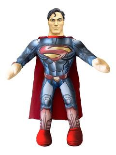 Muñeco Soft Superman Con Sonido Y Luz Dny512020