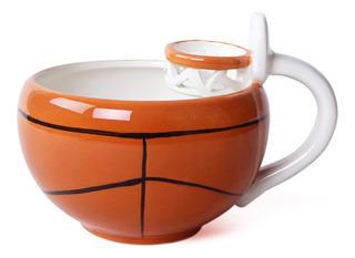 Taza Ceramica En Forma De Canasta De Basquetbol H1320
