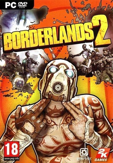 Borderlands 2 Pc - Steam Key (envio Já)