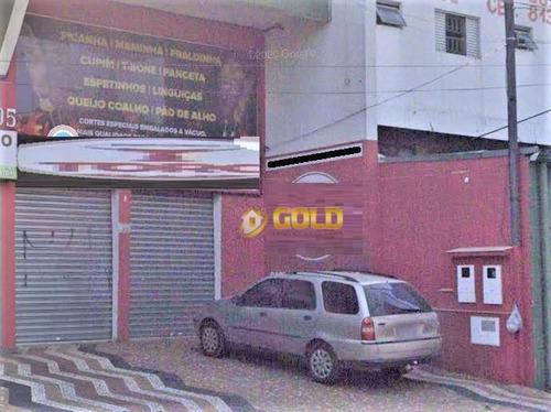 Salão Para Alugar, 133 M² Por R$ 2.200,00/mês - Jardim Planalto - Paulínia/sp - Sl0020