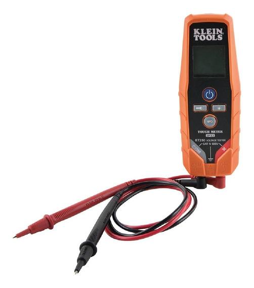 Probador De Voltaje Continuidad12-600v Et250 Klein Tools