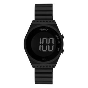 Relógio Euro Fashion Fit Slim Feminino Preto Eubjt016ad/4p