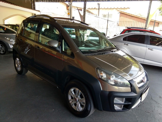 Fiat Idea Adventure 1.8 Cinza 2011 Completa