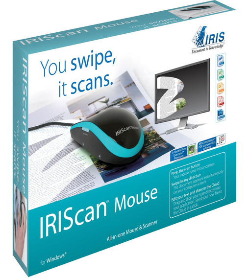 Mouse Scanner Iriscan Mouse (457885) Usb 300 Ppp