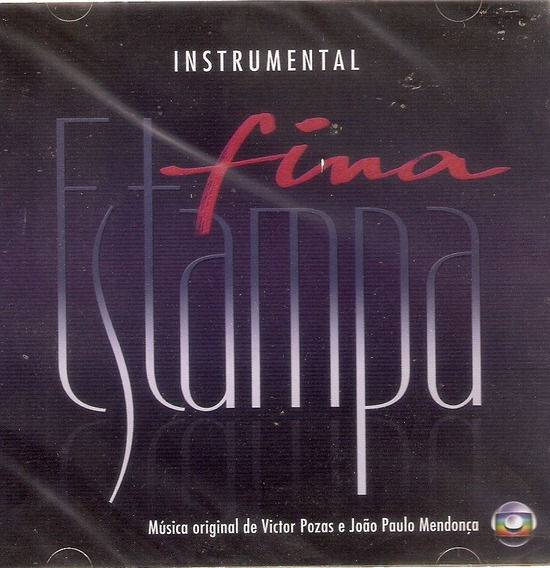 Cd Fina Estampa - Instrumental - Novo Lacrado***